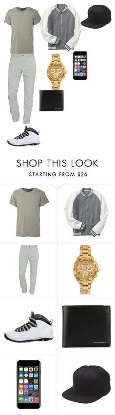 """Lynnasia outfit"" by treasure-washington on Polyvore featuring Numero00, Gap, Closed, Versace, NIKE, Burberry, Off-White, Vans, men's fashion and menswear"
