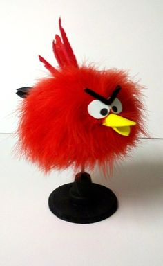 Here's the finished Angry Bird project! <3