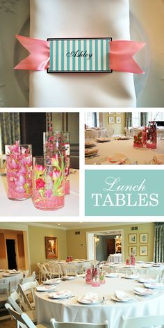 Beautiful Bridal Shower {Bridal Shower Ideas} via TipJunkie.com