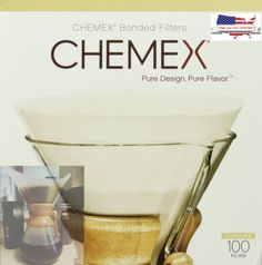 Coffee-Filter-Pre-Folded-Circle-100-Filters-Chemex