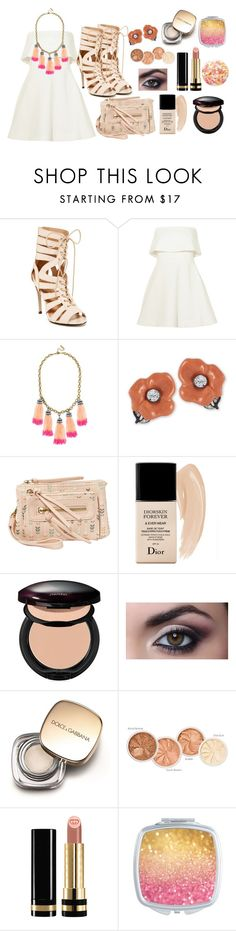 """""""Untitled #1911"""" by cray-cray-cupcake ❤ liked on Polyvore featuring Chase & Chloe, Elizabeth and James, BaubleBar, Kenneth Jay Lane, T-shirt & Jeans, Christian Dior, Shiseido, Dolce&Gabbana, Gucci and Nails Inc."""