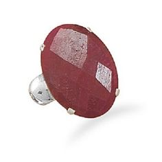 Floral Prong Rough Cut Ruby Ring. Get the lowest price on Floral Prong Rough Cut Ruby Ring and other fabulous designer clothing and accessories! Shop Tradesy now