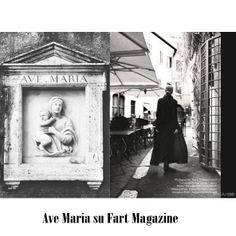 Editorial Ave Maria su Fart Magazine Photographer: Maria Cristina Franco Styling : Chiara Caputo Mua&Hair: Raimondo Santiprosperi Model : Maria Tn@Vrmanagement Assistant photo : Alessandro Mancinelli Location: Roma