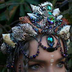 Suns, moons and elephants  #mermaids #mermadcrown #handmade #elephants #sun #moon #sunsandmoons #gemstones #crystals #tiara #magic #mystic #fantasy #mystictopaz #quartz #goodvibes