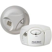 First Alert Smoke Alarm Carbon Monoxide Detector Combo Pack Home Safety Devices