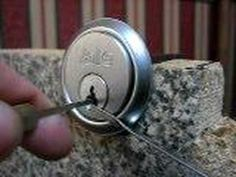 Lock picking - How to detect security pins