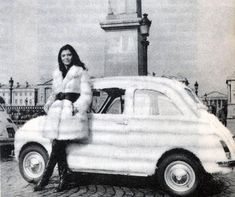 Fiat 500, Automobile, Pin Up, Historical Pictures, Photos Du, Cars, Vintage, Beauty And The Beast, Italia