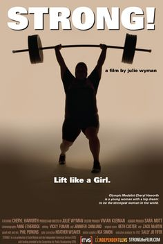 """Julie Wyman (2008 Film/Video grantee) screens her new documentary """"Strong!"""" at Alamo Drafthouse Village in Austin, May 17, 7pm. Strong! Cheryl Haworth is a young woman with a big dream: to be the strongest woman in the world. """"Strong!"""" follows 300-pound U.S. Olympic weightlifter Cheryl Haworth as she prepares for Beijing 2008, struggling with injury, confidence and her place in a world where larger women are not readily accepted."""