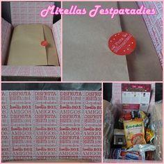 Auch in diesem Monat berichte ich euch wieder von der Degustabox. In der Box von Dezember gab es diesmal viele süße Produkte.