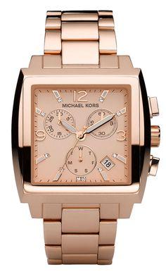 Michael Kors Chronograph Rose Gold Dial Women's Watch MK5331 [Watch] : Disclosure: Affiliate link $203.54