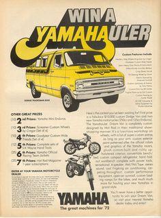 Yamahauler Ad from 1976