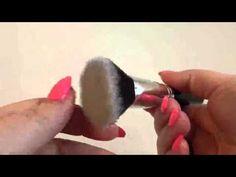 Flat Top Kabuki Makeup Brush by Malika Jafrin Makeup Artist Review - YouTube