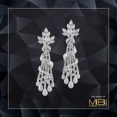 Many ancient cultures believed that diamonds gave the wearer strength and courage during battle, and some kings wore diamonds on their armor as they rode into battle. #TheHouseofMBj #MBjIndia #MBj #Diamondearrings #Luxuryjewellery #jewellery