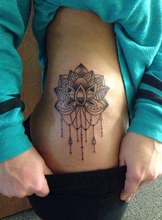 Tattoo #2 mandala lotus