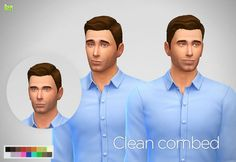 Two mesh edit haircuts for males at LumiaLover Sims • Sims 4 Updates