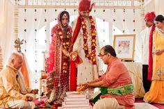 hindu wedding ceremony | Golf Club at Newcastle – Hindu Wedding Ceremony of Namita and Gauhar