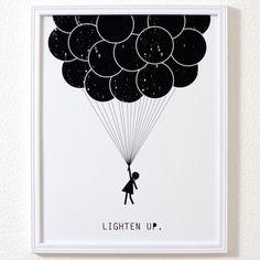 Lighten Up Print 11x14  by Melanie Greenwood