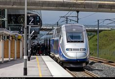 RailPictures.Net Photo: SNCF TGV at Belfort, France by Jean Vernet