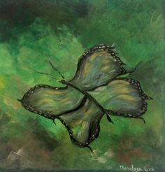 Free butterfly  Acrylic  Private collections Netherlands