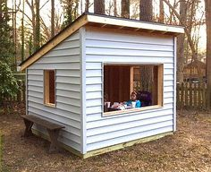 Easy kids indoor playhouse indoor playhouse playhouses and building amazing woodworking shops simple playhouseplayhouse outdoorplayhouse ideaskid solutioingenieria Images