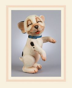 """Bonzo™, the small, sleepy-looking pup of """"The Sketch"""" attracted huge audiences made up of both adults and children. Bonzo's image and exploits spilled over from the pages of the magazine into more areas of popular culture than those of any other cartoon hero before him. In addition to his regular appearance in the publication, Studdy's irresistible little dog starred in many books for children as well as hundreds of attractive full color postcards. His image thrived in an enormous variety of…"""