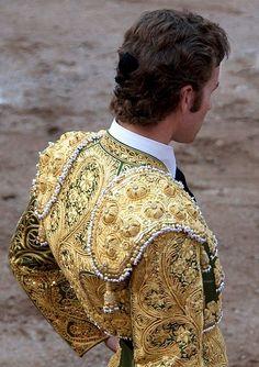Image - Torero, (Bullfighter) in gold, Spain