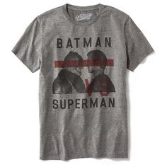 05aaec1ea Old Navy DC Comics Batman Superman Tee For Men ( 17) ❤ liked on