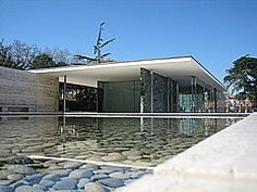 Panoramio - Photo of Mies van der Rohe Pavillon