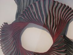Woven, 3-D adornment. Ann Richards