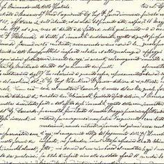 Antique Italian Script