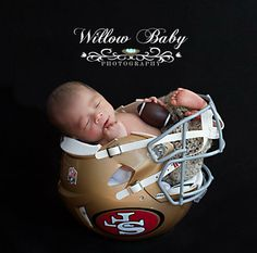 For our San Francisco Niner fans...too cute!