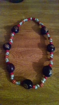 Ohio State Basketball Buckeye necklace Etsy.com/shop/2HeartsAs1