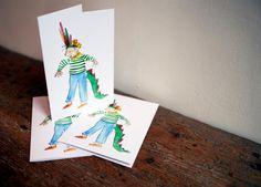Little Pest Cards by SarahMakesStuffShop on Etsy