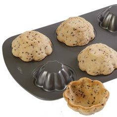 Cookie Bowls - Flip your baking pan upside down!
