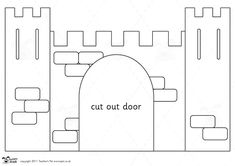 Teacher's Pet - Castle Design Project (Portcullis) - Premium Printable Classroom Activities and Games - EYFS, KS1, KS2, castles, knights, me...