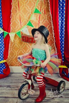 Circus Fun Tutu by Atutudes As seen on EtsyLush and by atutudes, $24.95
