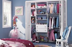 And here's the girl's version > Closet Organizers | Closets Plus of Traverse City - Traverse City, MI