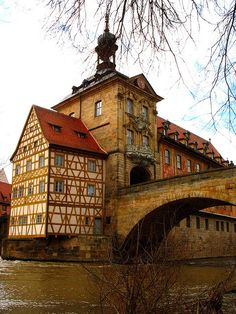 Old Town Hall (circa 1386) Bamberg, Germany  #travel