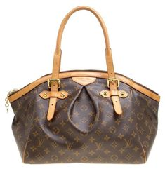 ac3a46c7595c0 Louis Vuitton Tivoli Monogram and Leather Gm Brown Canvas Satchel - Tradesy  Louis Vuitton Tivoli