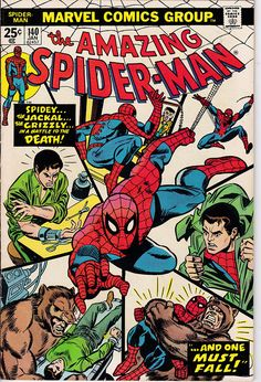 Amazing Spider-Man 140 1963 1st Series January 1975 Marvel