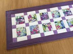 Imagini pentru patchwork purple table mats