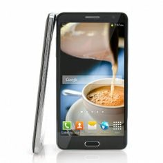 Scribble 5.7 Inch IPS Display Android 4.2 Smartphone - MT6589 Quad Core 1.2GHz CPU, 8 Megapixel Rear Camera (Black)