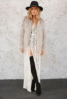 Faux Fur Jacket | FOREVER21 - 2000081429