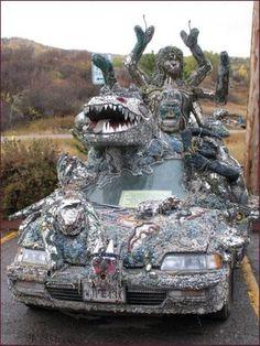 strange cars - http://perrisautospeedway.com #autospeedway #speedway #attractions