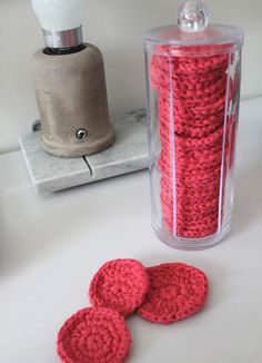 Virkatut kestovanulaput. Crochet Scrubbies, Knit Crochet, Diy And Crafts, Arts And Crafts, Diy Hacks, Little Things, Handicraft, Raspberry, Crochet Patterns