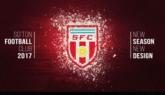 """Popatrz na ten projekt w @Behance: """"Southampton Football Club Rebranding"""" https://www.behance.net/gallery/45234465/Southampton-Football-Club-Rebranding"""