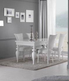 Table de salle à manger design JASMINE, Disponible en 2 dimensions