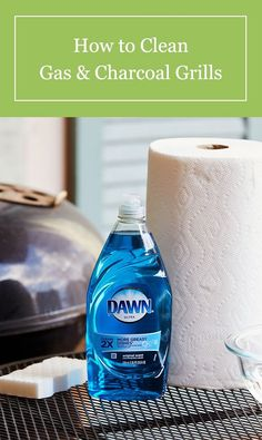 Get your gas or charcoal grill ready for summer with our cleaning guide. Household Cleaning Tips, House Cleaning Tips, Diy Cleaning Products, Cleaning Solutions, Cleaning Hacks, Cleaning Supplies, Grill Cleaning, Clean Grill Grates, How To Clean Bbq