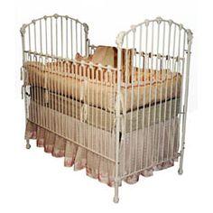 Iron antique crib