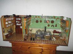 Uralte völlig original Puppenküche von Bing oder Kibri vor 1900, sehr gross in Antiquitäten & Kunst, Antikspielzeug, Puppen & Zubehör | eBay!